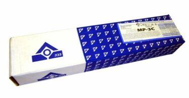 Сварочные электроды «МР-3С» — применение и характеристики
