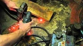 Как подключить болгарку к аккумулятору