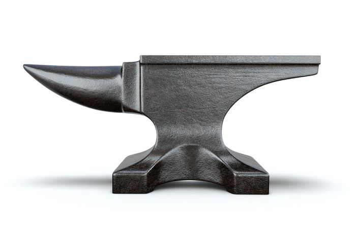 Кузнечная наковальня