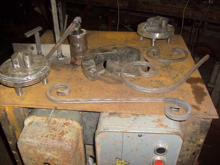 Материалы и оборудование для холодной ковки
