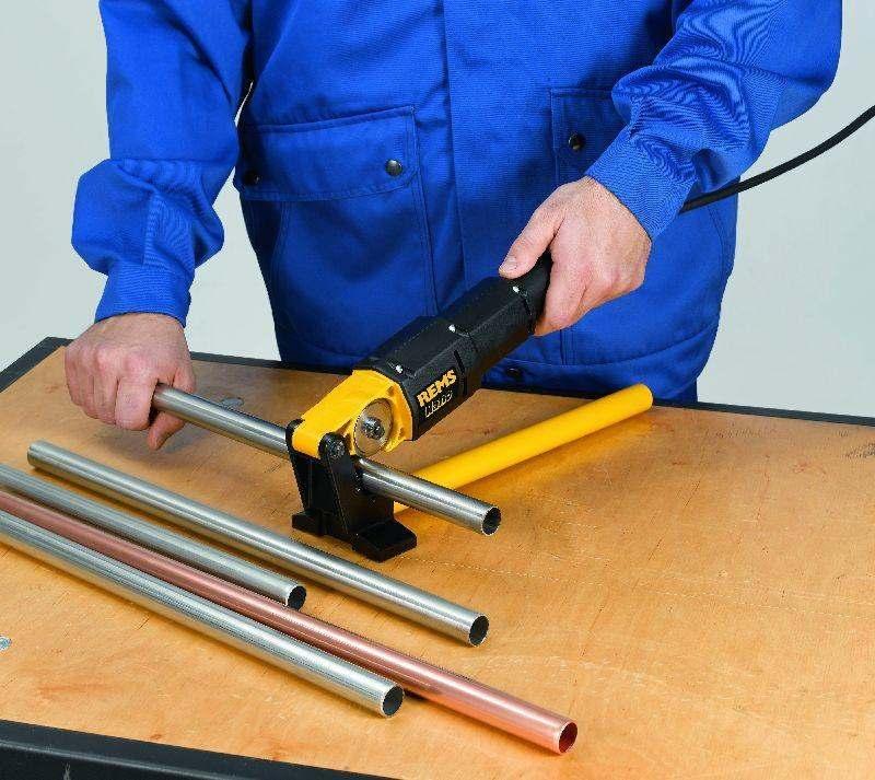Электрический труборез для стальных труб Rems