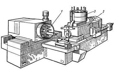 Вариант компоновки агрегатного станка