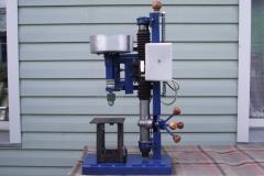 Станок из рулевой рейки с двигателем от стиральной машины