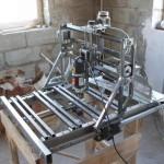 Самодельный фрезерный станок с ЧПУ с металлической станиной